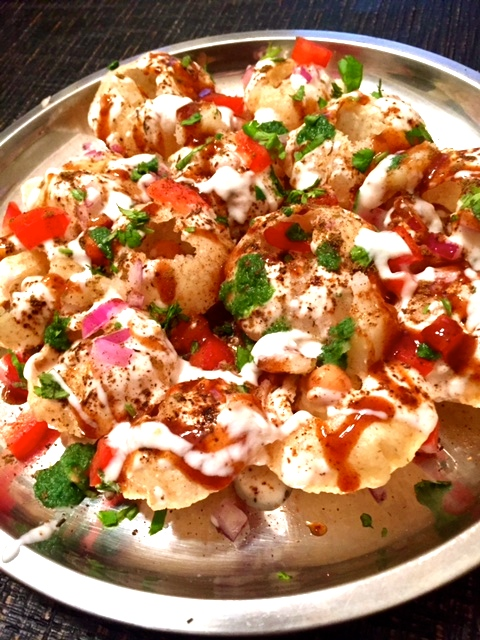 chaat plate